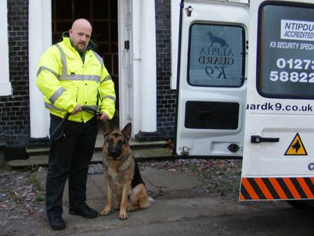 Security Dog & Handler